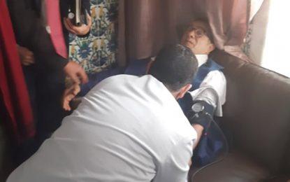 ARP : Le député d'Ennahdha Faycel Derbel prétend avoir eu un malaise à cause du… mégaphone de Abir Moussi