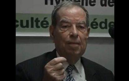 Décès du Pr Abdelhafidh Sellami, fondateur et premier doyen de la Faculté de Médecine de Sfax