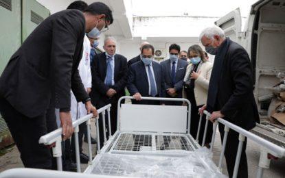Amen Bank apporte son soutien à l'hôpital Charles-Nicolle de Tunis