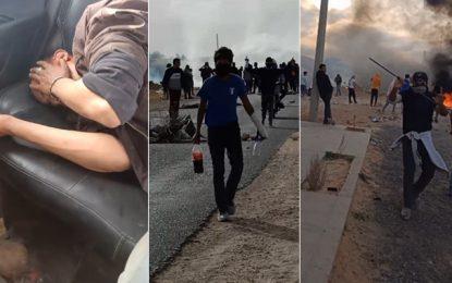 Tataouine : Heurts entre la police et les manifestants d'El-Kamour