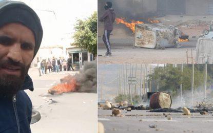 El-Kamour : Haddad menace de «fermer Tataouine», jusqu'à la libération des jeunes arrêtés hier (Photos)