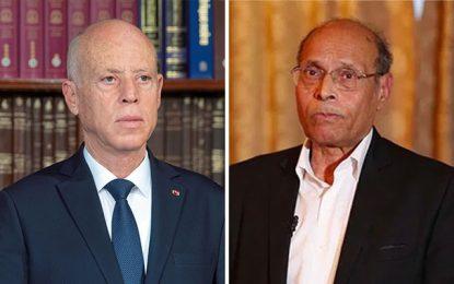 Marzouki sur la chaîne qatarie Al-Araby: «Saïed fait partie de la contre-révolution»