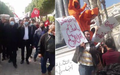 Manifestation à Tunis : Appels à la «chute du régime et à dégager Ennahdha du pouvoir»