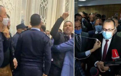 Aéroport de Tunis-Carthage : Mechichi soutient les agents contre Makhlouf et les députés Al-Karama