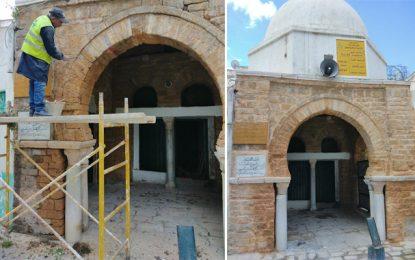 Patrimoine : Lancement des travaux de restauration de la Mosquée El Koubba à la Médina de Tunis (Photos)