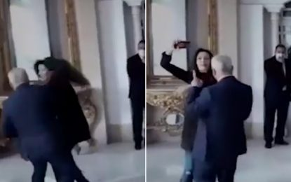 Violence à l'Assemblée : Le député Ennahdha Néji Jmal agresse sa collègue du PDL, Zeineb Sfari (Vidéo)