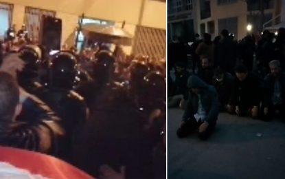 Tunis : La police empêche des députés Ennahdha d'entrer au siège de l'Union de Qaradawi