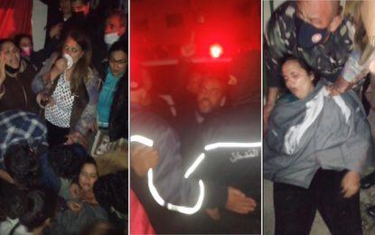 Le sit-in du PDL levé par la force, Makhlouf crie victoire, Moussi affirme que le mouvement se poursuit (Photos)