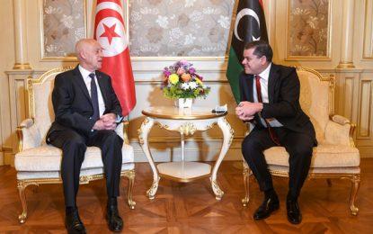 Saïed en Libye : Pour le renforcement des échanges commerciaux et des investissements (Photos)