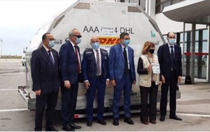 Tunisie – Covid-19 : Arrivée du premier lot du vaccin Pfizer-BioNTech