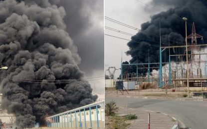 Affaire de l'explosion dans une usine d'asphalte à Gabes : 18 mois de prison à l'encontre de 5 cadres