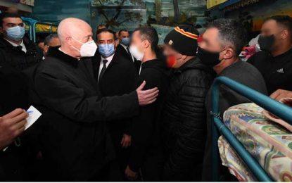 Le président Saïed en visite à la prison civile de Mornaguia (Photos)