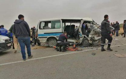 Sfax : Quatre morts et 6 blessés dans un accident de la route