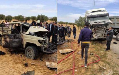 Meknassy : Décès de deux agents de la garde douanière dans un accident de la route