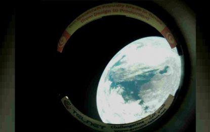 Première image de la Terre prise par le satellite tunisien «Challenge One»