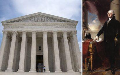 George Washington a créé la Cour suprême américaine en 48 heures chrono