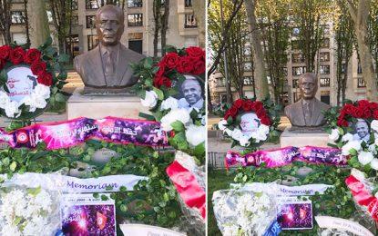 Commémoration à Paris de la 21e année de la mort de Habib Bourguiba