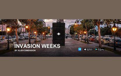 Invasion Weeks pour découvrir la technologie particulière de la réalité augmentée