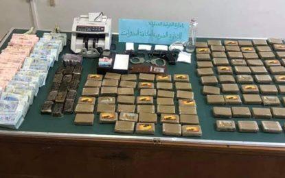 El-Menzah 9 : Des armes, de la cocaïne et du cannabis saisis en possession de 4 suspects (Photos)