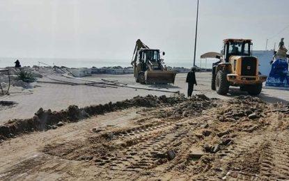 Radès : Campagne de démolition de constructions illégales sur le domaine public maritime (Photos)