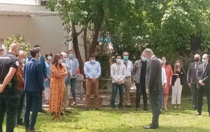 Attaque de Rambouillet : Une minute de silence à l'Ambassade de France en Tunisie, en hommage à Stéphanie Monfermé