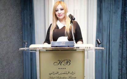 La chanteuse tunisienne Sabrine Leïla en visite dans son pays natal