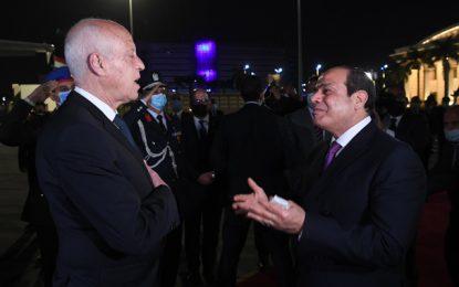Haykel Mekki qualifie la visite de Kaïs Saïed en Égypte d'«historique»