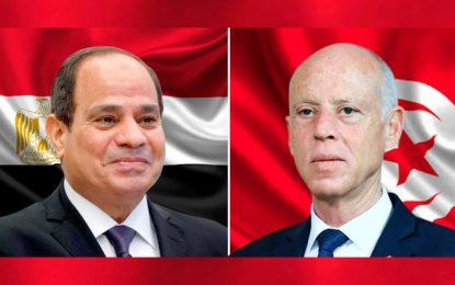 Kaïs Saïed en Égypte du 9 au 11 avril, à l'invitation de Abdelfattah Al-Sissi