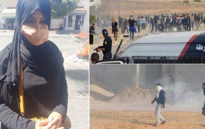 El-Kamour : Routes fermées à Tataouine pour appeler à la libération des six jeunes maintenus en détention
