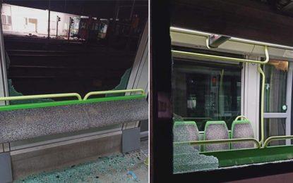 Métros & bus de Tunis : Les actes de vandalisme ont coûté 500.000 dinars en six mois (Transtu)