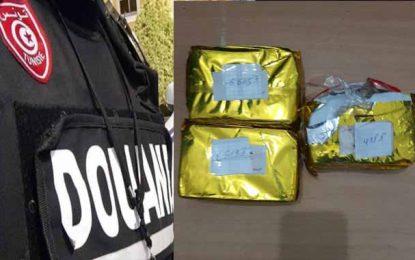 Saisie de plus de 1458 grammes de cannabis à Kasserine : Deux suspects arrêtés