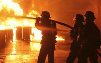Sidi Bouzid : Un incendie cause le décès d'un bébé
