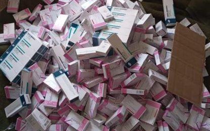 Tataouine : Démantèlement d'une opération de trafic de médicaments vers la  Libye (Photos)