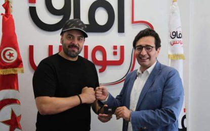 L'acteur Mohamed Ali Ben Jemaa devient membre du parti Afek Tounes