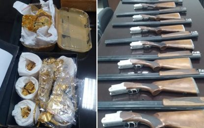 Contrebande : De l'or et des fusils saisis à Ben Guerdane