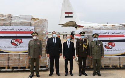 Coronavirus : Réception des équipements médicaux offerts par l'Égypte à la Tunisie (Photos)