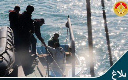 Migration : Vingt Tunisiens sauvés en mer, au large de Kélibia