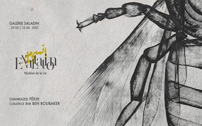 Galerie Saladin : «Exaltation_ Mystère de la vie» de Chahrazed Fekih