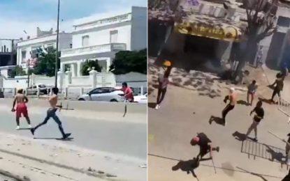 Stade tunisien-Club africain : Heurts entre la police et des supporteurs au Bardo