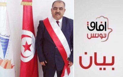 Afek Tounes : Le maire de Hammamet Moez Mrad, visé par de sérieuses menaces terroristes