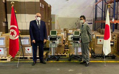 Don japonais d'équipements médicaux, pour renforcer les capacités des hôpitaux tunisiens (Photos)