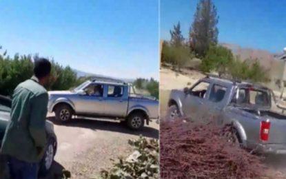 Recherché pour avoir tenté de percuter son frère avec un véhicule de la municipalité, le maire de Jedelienne se rend à la police