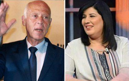 Abir Moussi, Kaïs Saïed ne te doit rien !