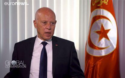 Saïed à Euronews : L'Europe doit faire face aux véritables causes de la migration