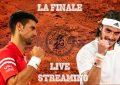 Djokovic – Tsitsipas : Finale Roland Garros en live streaming