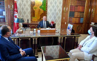 Crise socio-politique : Saïed convoque Mechichi et Ben Slimane et exprime «son profond mécontentement»