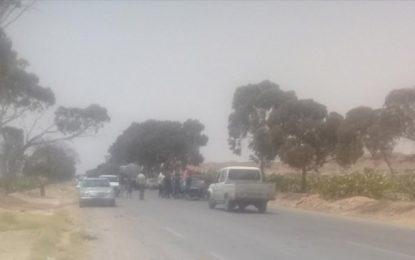 Sidi Bouzid : Un accident de la route cause la blessure de 7 ouvrières agricoles