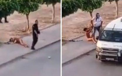 Contrairement à la version de la police : Le jeune de Sidi Hassine a été déshabillé par des policiers (vidéo)