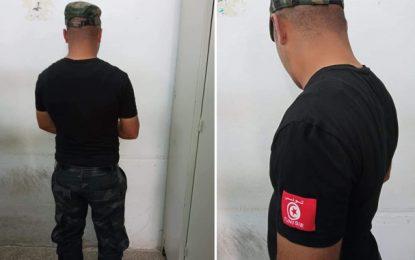 Sfax : Arrestation d'un individu en «uniforme», qui se faisait passer pour un policier pour escroquer des citoyens