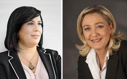 Non, Abir Moussi n'est pas Marine Le Pen!